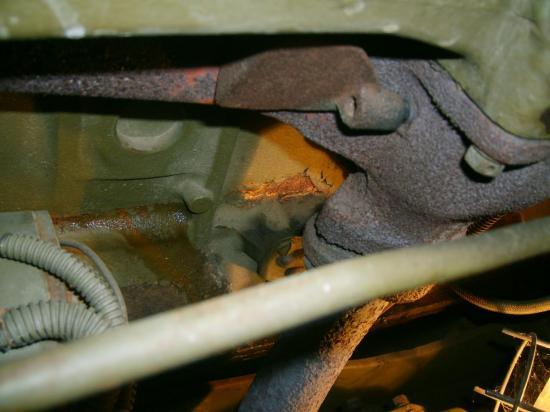 bloc moteur fêlé