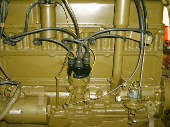 commandes avance allumage et pompe essence