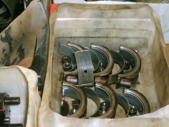 démontage du nouveau moteur