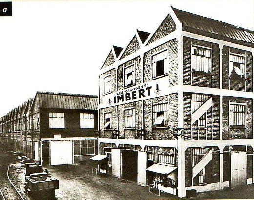 Imbert Paris produit les gazogènes Köln à partir de 1941