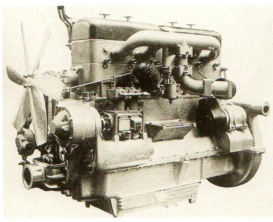 Moteur diesel Bussing-NAG transformé