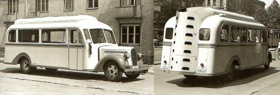 Autobus Ford BB 1939