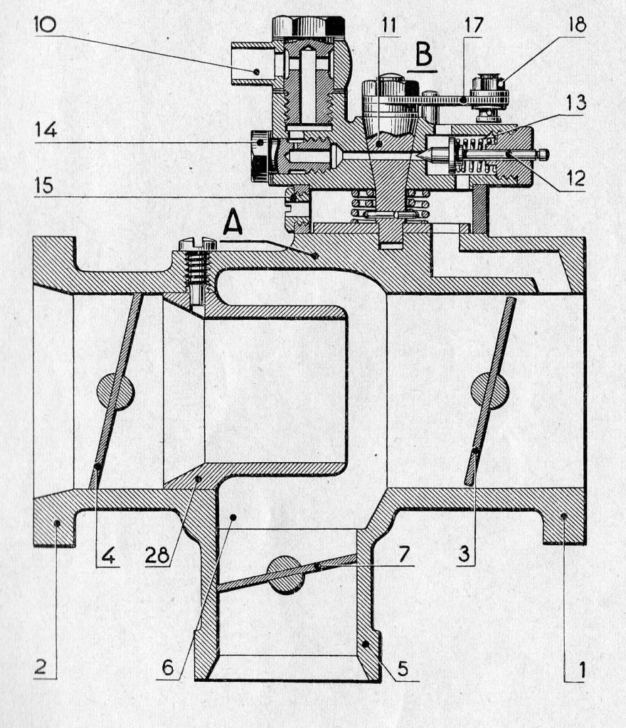 mélangeur à starter type ML fig 1