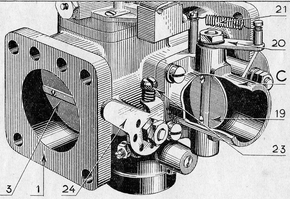 mélangeur à starter type- ML fig 2