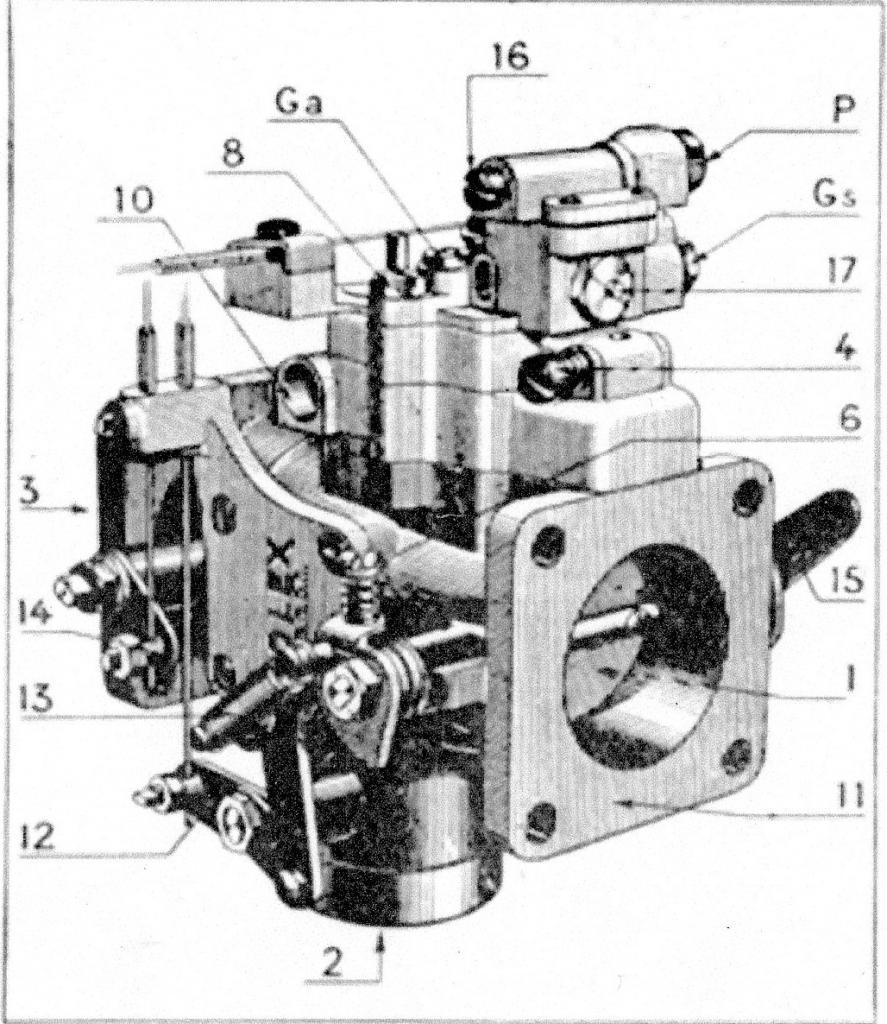 mélangeur à starter type- MSX fig 1
